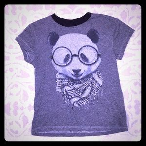 Other - PANDA Embellished T-shirt-Size Small
